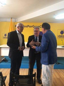 José Francisco Pérez y José Miguel Bravo de Laguna, de UxGC