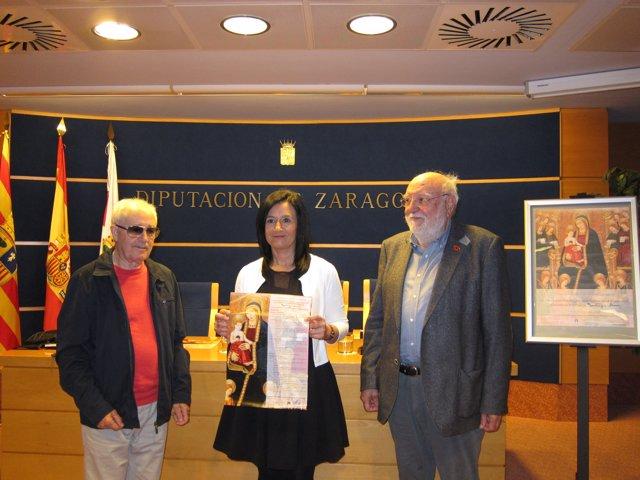 Mañas, Herrero y Borrás han presentado hoy las jornadas en Zaragoza
