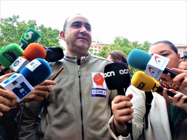 Javier Pacheco, CC.OO. De Catalunya