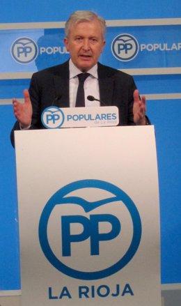 El diputado nacional del PP de La Rioja Emilio del Río