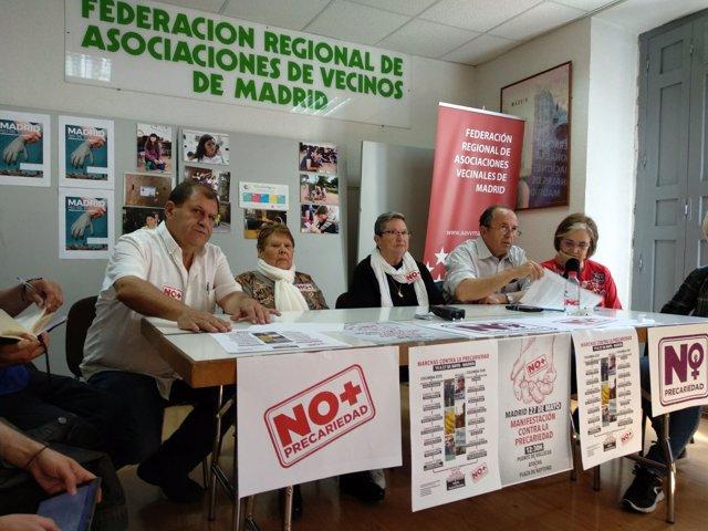 Convocan varias marchas y una manifestación el 27 de mayo.