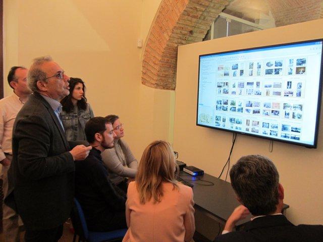 Nueva sala de consulta de la fototeca de Cáceres