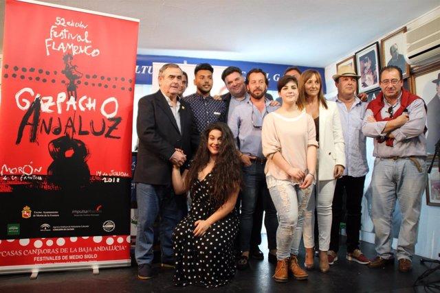 Presentación de la 52ª edición del Festival Flamenco 'Gazpacho Andaluz'