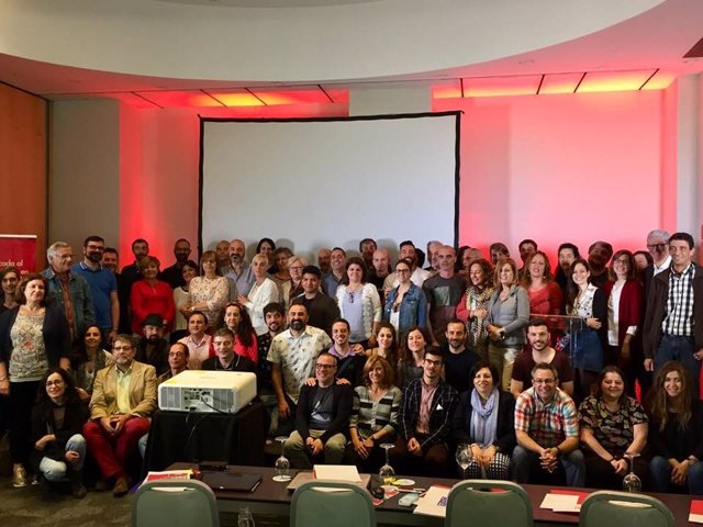 Foto con todos los asistentes a la XXII edición de las Jornadas de Fo