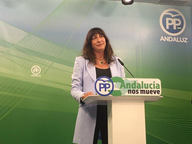 Loles López, este lunes, en rueda de prensa