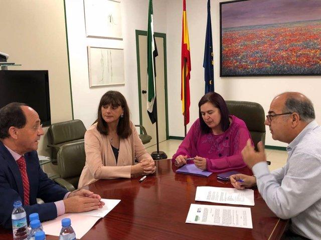 La consejera de Medio Ambiente y Medio Rural, Begoña García