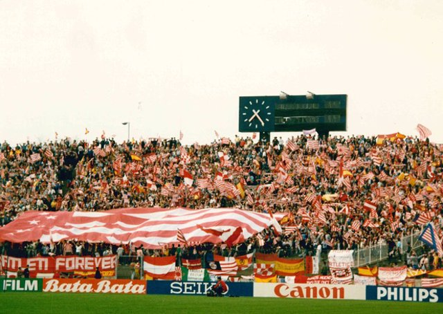 Mosaico tifo Atlético