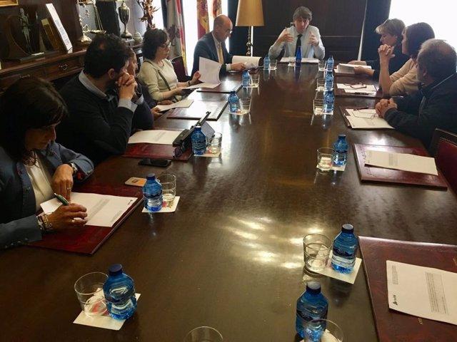 Imagen de la reunión, 14-5-18