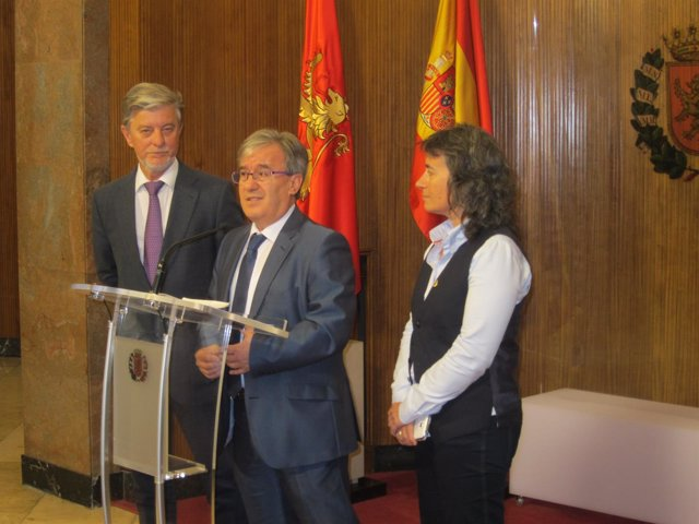 Santisteve, Dolado y Broto, este lunes en el Ayuntamiento