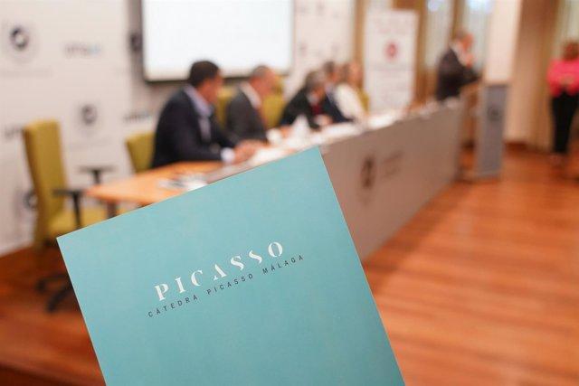 Cátedra Picasso Málaga Nace UMA, CEM, Ayto, Casa Natal, Fundación Málaga, Bellas