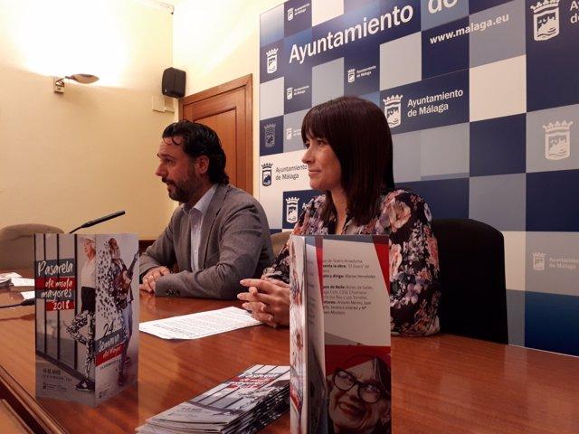 Raul jiménez concejal Derechos Sociales con Ruth Sarabia