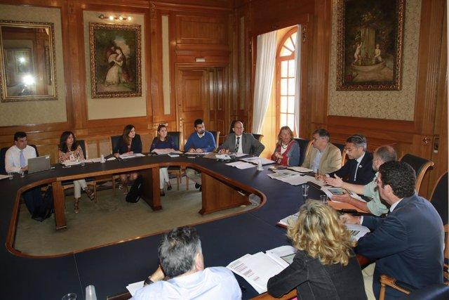 Reunión en Marbella para abordar los fondos Edusi