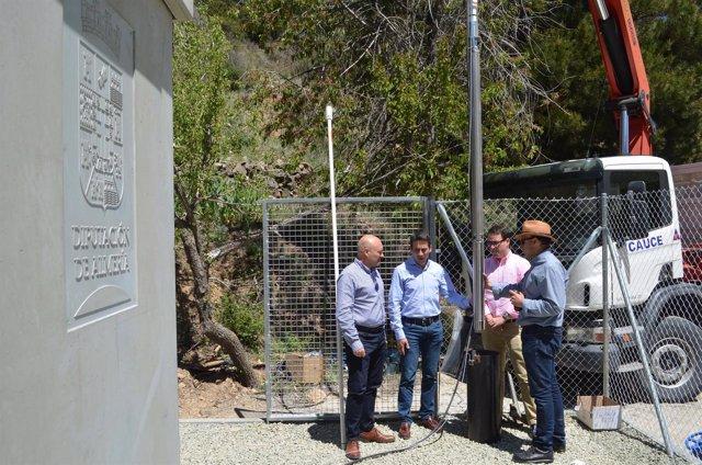 Diputación terminará de habilitar el sondeo de Senés para garantizar el agua.