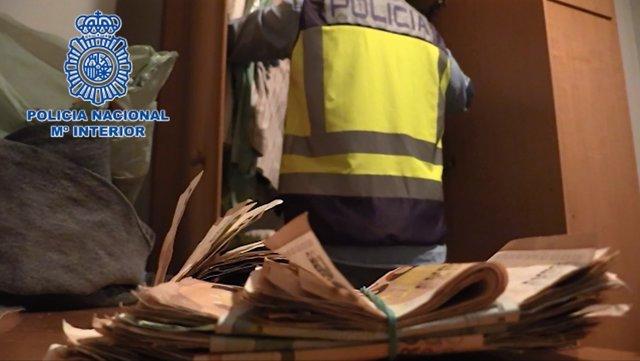 Operación de la Policía Nacional en Sagunto