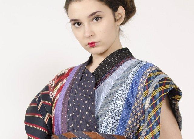 Koopera y EASDV diseñan moda con prendas recuperadas