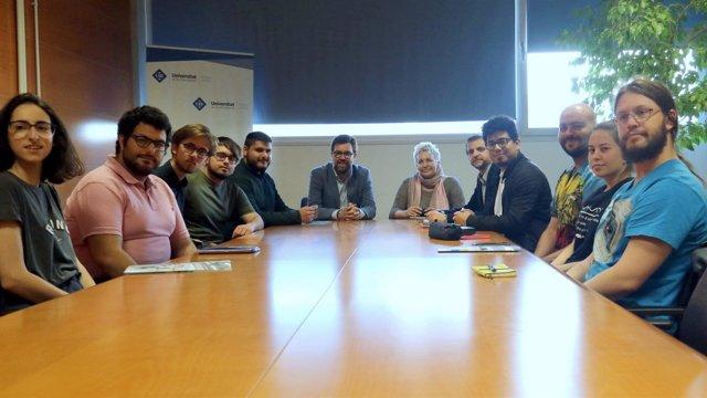 Reunión de Noguera con el Consejo de Estudiantes