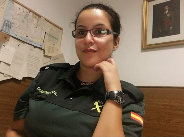 La guardia civil María Luisa Flores