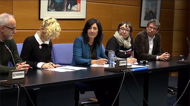 La viceconsejera garamendi se reune con los sindicatos