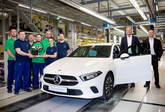 Producción del nuevo Mercedes-Benz Clase A en Kecskemét (Hungría)