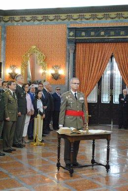 El general Escamez, nuevo jefe de Estado de Mayor de la Fuerza Terrestre