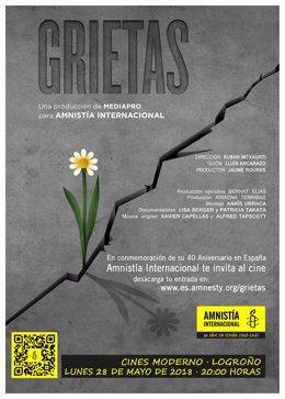 Amnistía Internacional te invita al cine