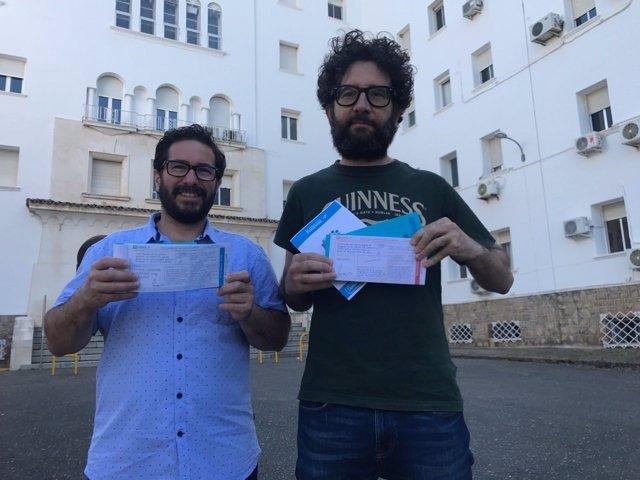 David Moscoso y Jorge Hidalgo ante Los Morales