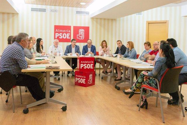 PSOE de Almería se reúne para abordar el despoblamiento en zonas rurales