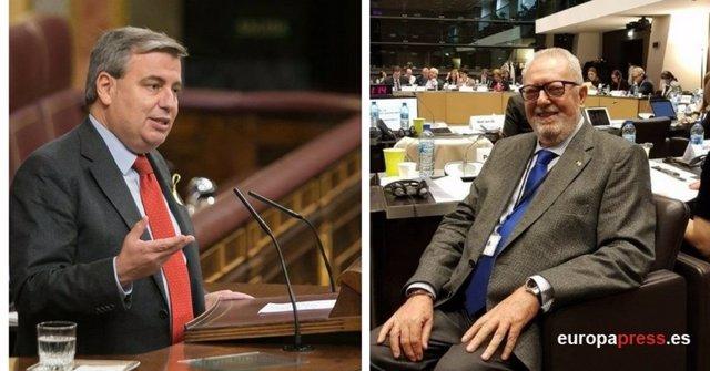 Pedro Agramunt y Jordi Xuclá