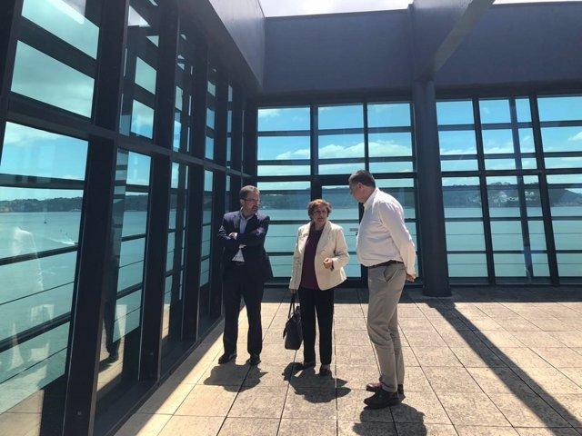 Reunión en Lisboa sobre la Plataforma Logística de Badajoz