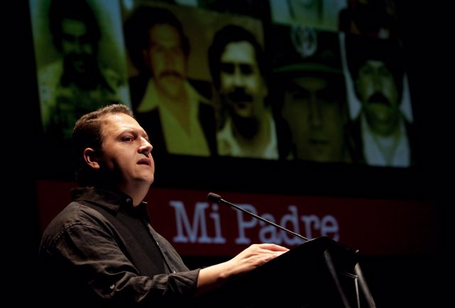 Sebastian Marroquin, son of late Colombian drug lord Pablo Escobar Gaviria, deli
