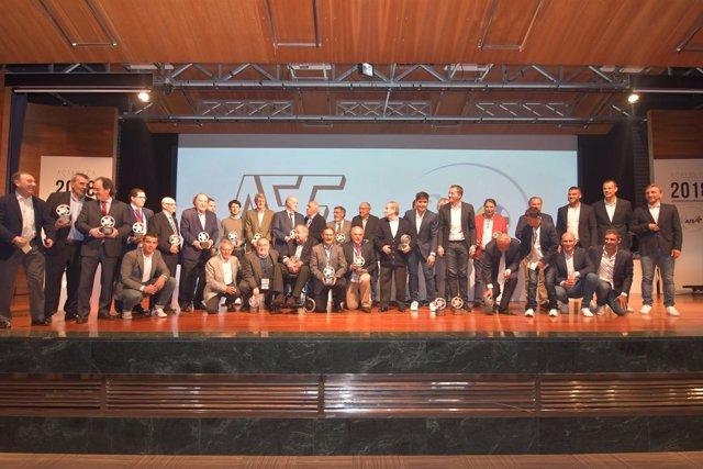 AFE rinde homenaje en su 40 aniversario a personas clave en su fundación