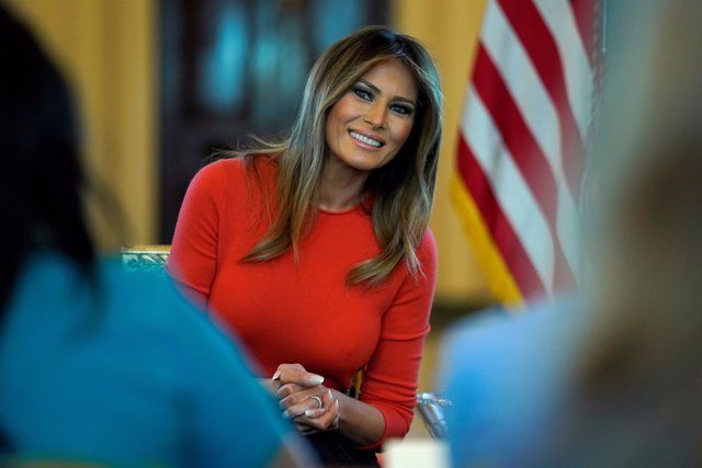 La primera dama de Estados Unidos, Melania Trump