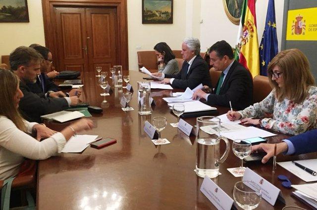 Comisión interadministrativa sobre los efectos del temporal en Andalucía