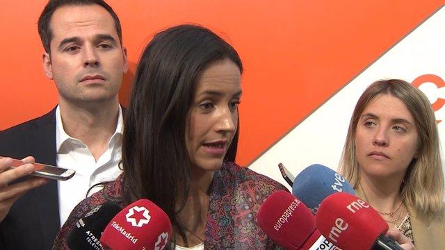 Reunión del Comité Autonómico de Ciudadanos en Madrid