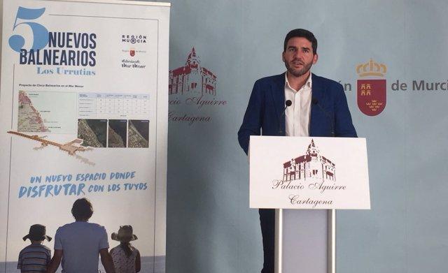 Luengo Presenta El Proyecto De Balnearios Para La Zona Sur Del Mar Menor