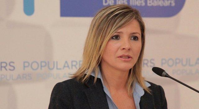 La portavoz del PP en Sa Pobla, Margalida Serra