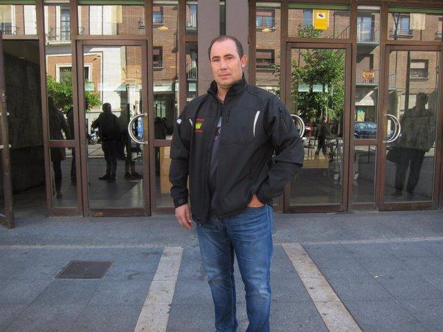 Aitor Martínez, herido en el accidente.