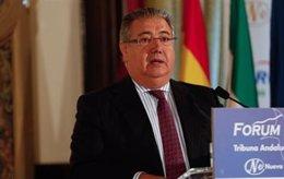 El ministro del Interior, Juan Ignacio Zoido, en un acto en Sevilla