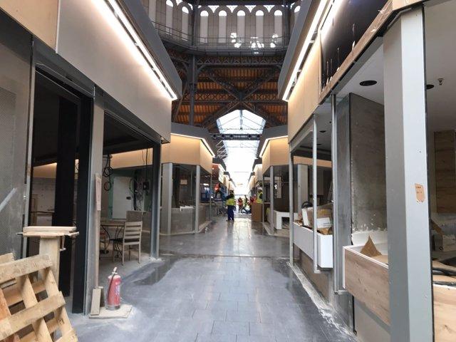 El nuevo Mercat de Sant Antoni, que reabirá el próximo 23 de mayo
