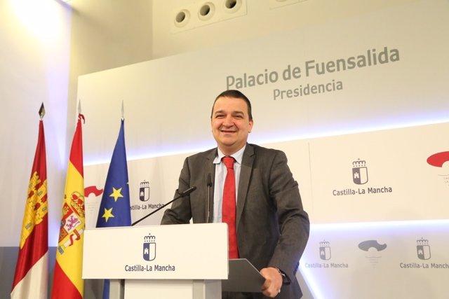Francisco Martínez Arroyo, en rueda de prensa