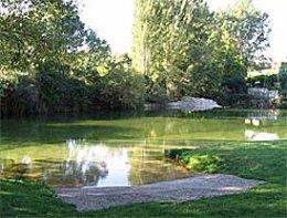Zona de baño en el río Urederra.
