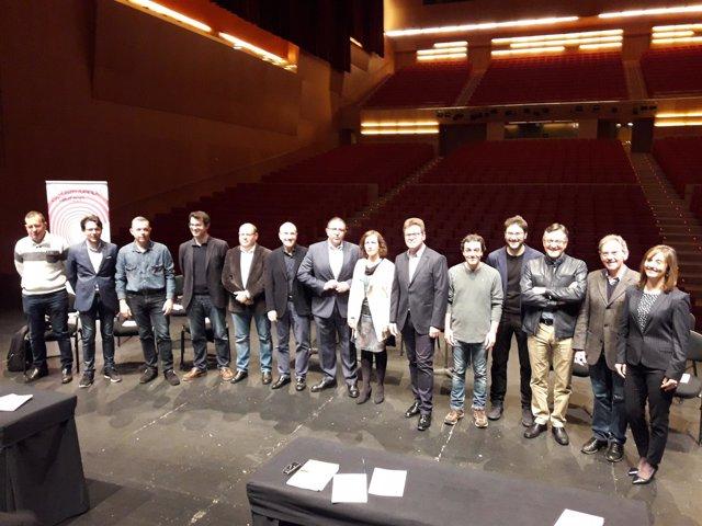 Presentación de la temporada 18/19 de la Orquesta Sinfónica de Navarra.