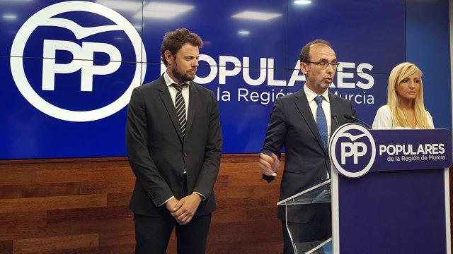 Salvador Marín, en la rueda de prensa