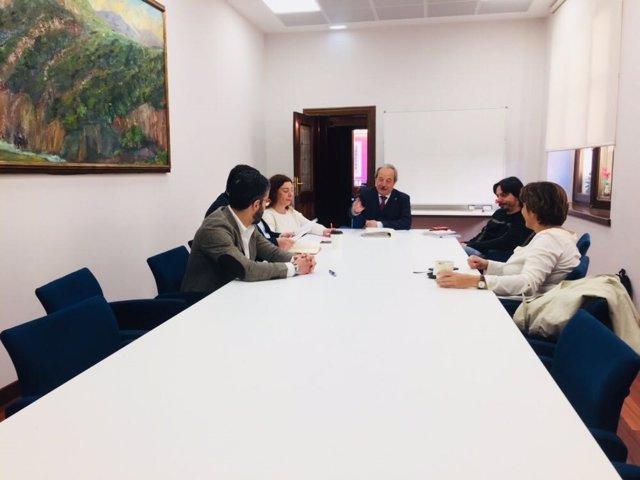 Reunión municipal Área Central Metropolitana