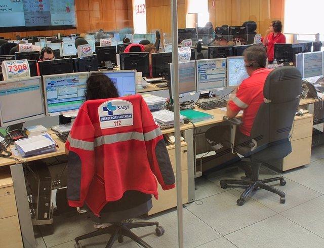 Atención de emergencias en el 112