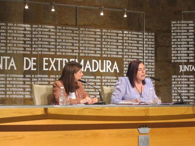 Isabel Gil Rosiña y Begoña García Bernal
