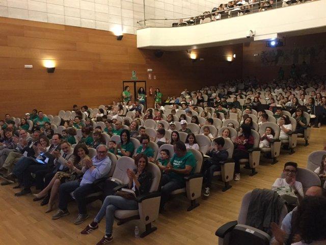 Entrega de la Bandera Verde Ecoescuelas.