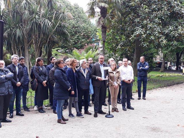 Acto del PP en San Sebastián.