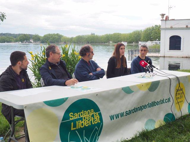 Presentación de la Sardana per la Llibertat