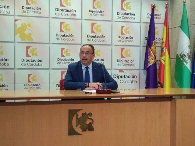 Francisco Juan Martín, durante la rueda de prensa